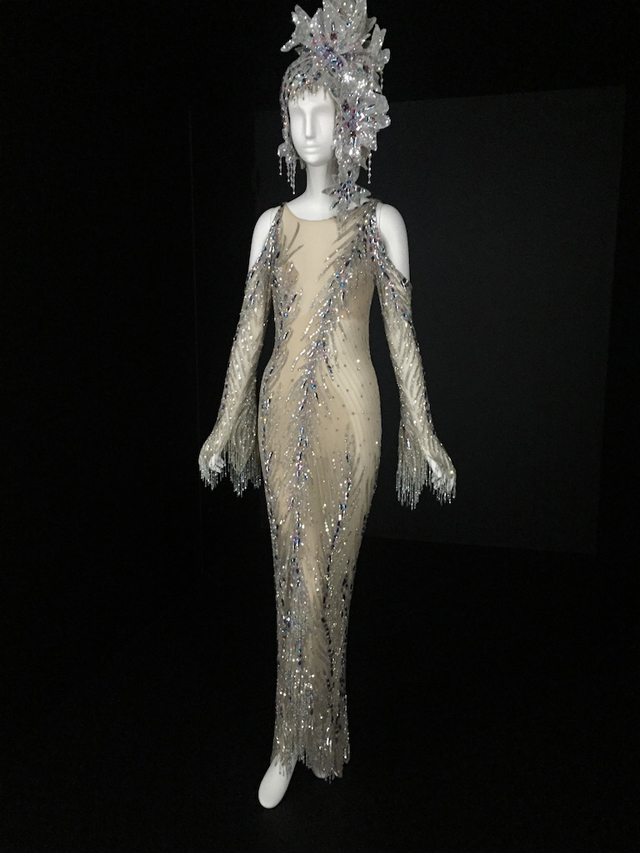 bob mackie crystal dress for cher