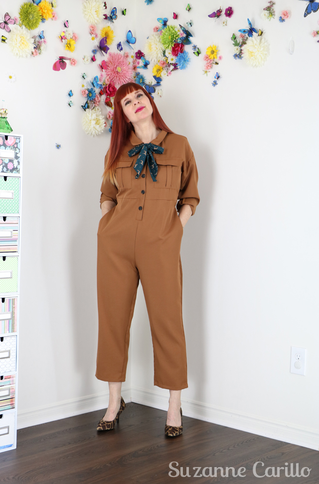 wear a jumpsuit over 40 suzannne carillo