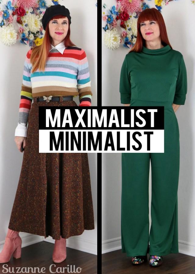maximalist minimalist style over 40 suzanne carillo