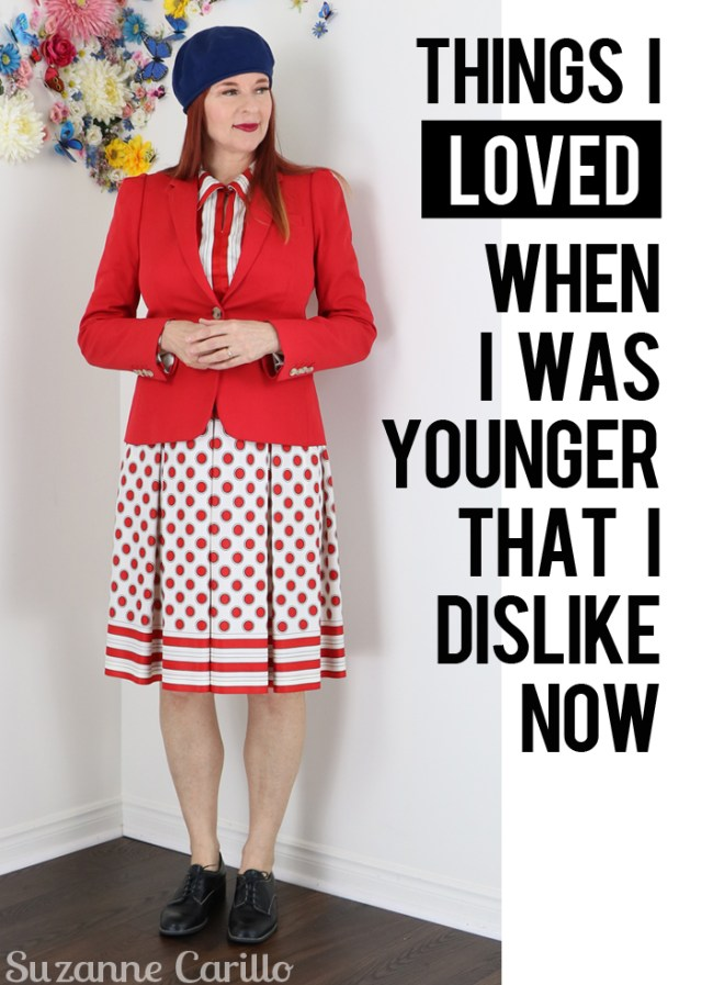 things i loved when i was younger that i dislike now