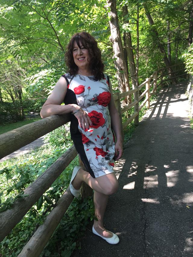 ally shy biker transgender blogger