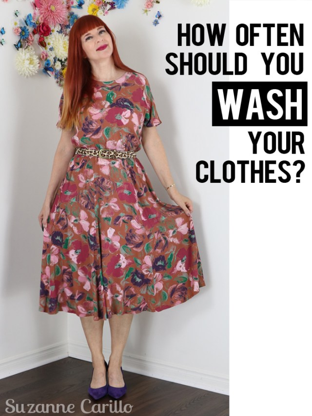 how often should you wash your clothes