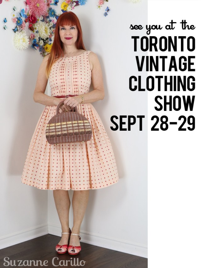 see you at the toronto vintage clothing show