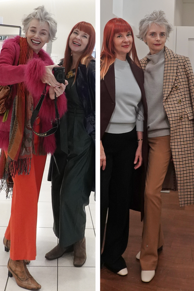 before and after suzanne carillo mel kobayashi Club Monaco style experiment