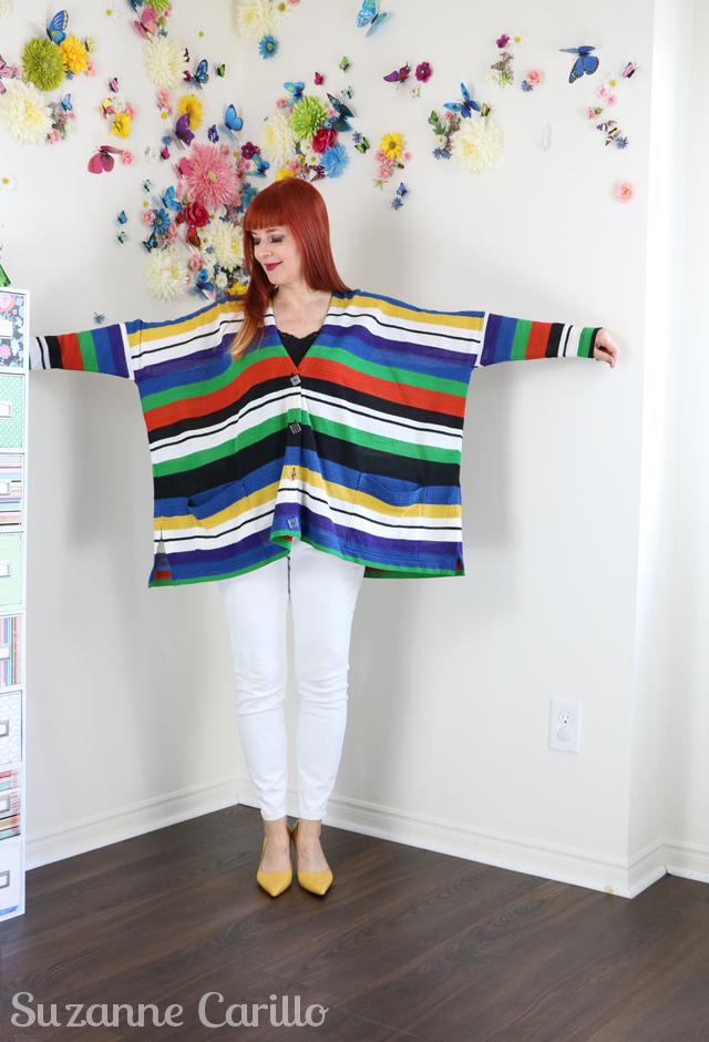 oversized missoni rainbow striped cardigan for sale questions to ask yourself before you buy know your style