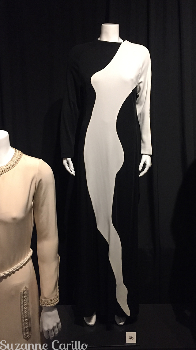 Yves St. Laurent applique dress from 1966 licensed copy