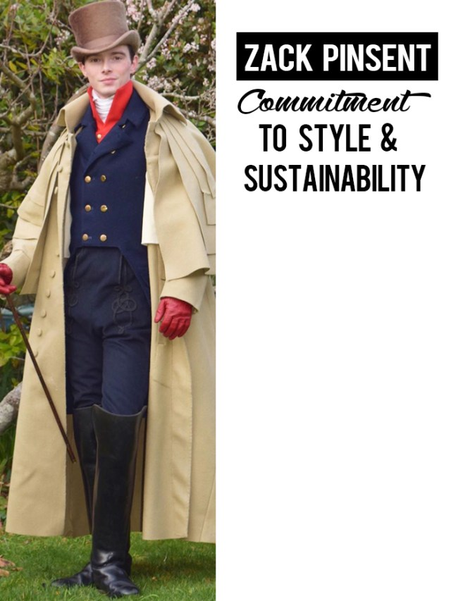 zack pinsent commitment to style and sustainability