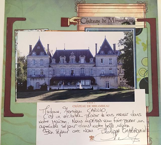 chateau de mirambeau france suzanne carillo
