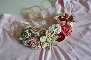 Bib fabric necklace 1000