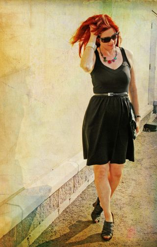 Cynthia rowley black dress