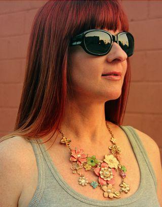 Forever21 floral necklace