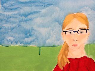 Rylee self portrait