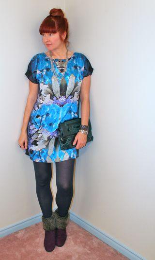 Grpahic print dorothy perkins dress