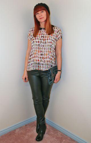 Zara bug blouse