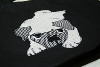Finished pug bag