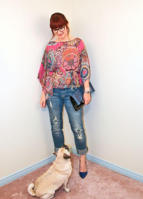 Pug fashion shoot