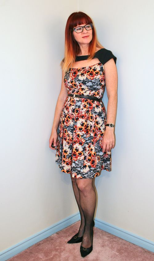 Modcloth dress pansy