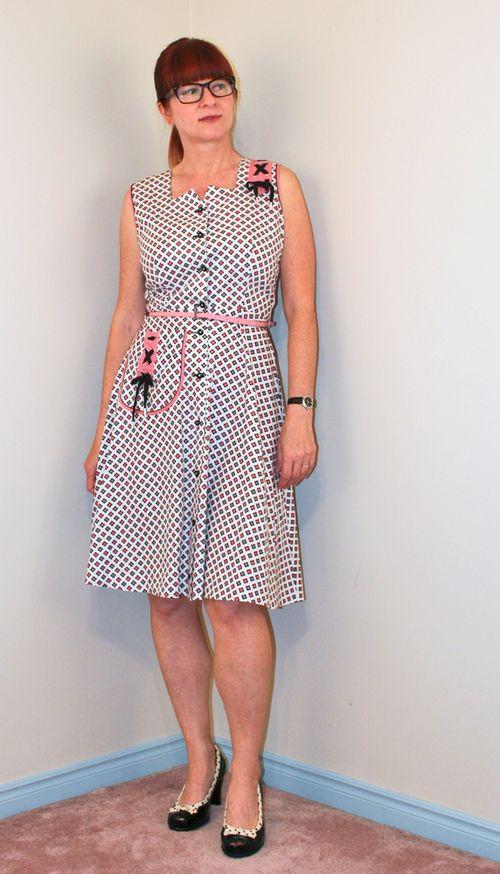 Vintage dress 1940s