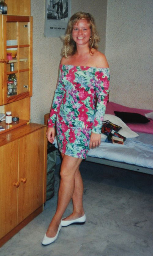 Floral dress 1990 small