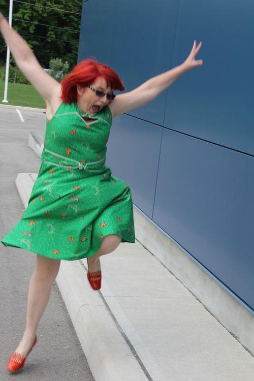 Hazel flying