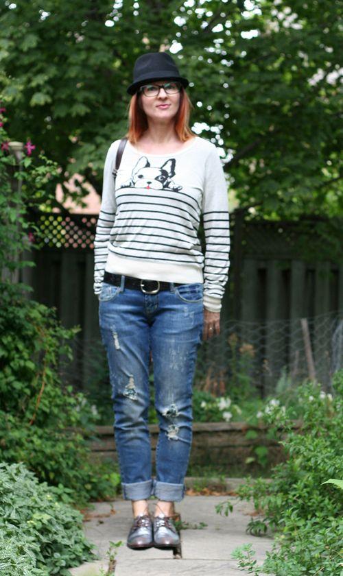 Menswear inspired dressing for women