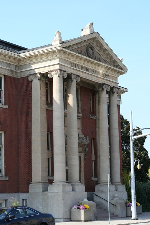 Galt public library
