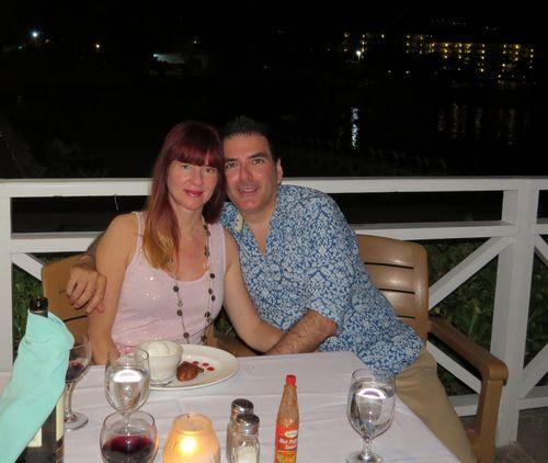 Dining at raymonds montego bay resort