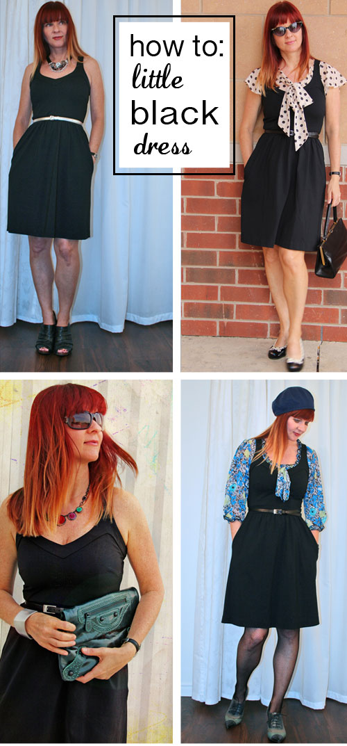 10 great ways to style a little black dress