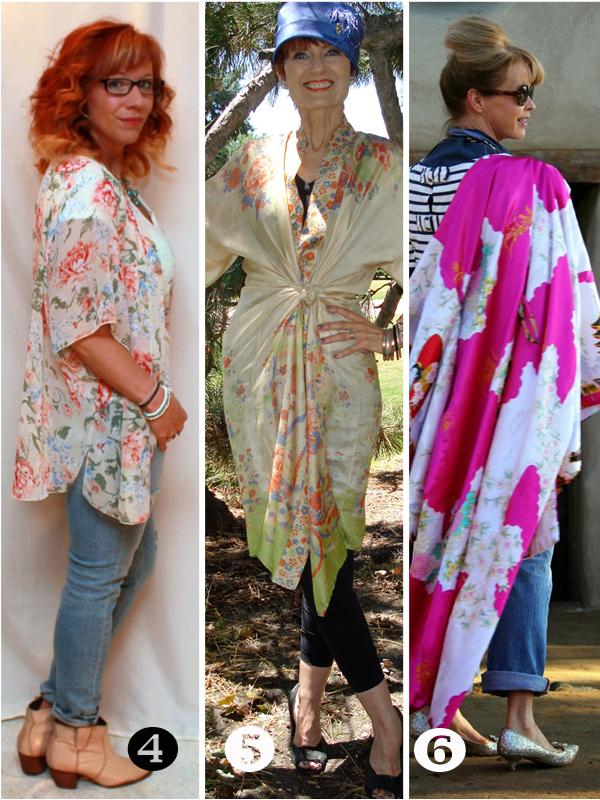 Kimonos how to wear a kimono over 40