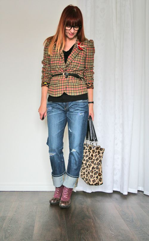 How to style plaid for winter suzanne carillo