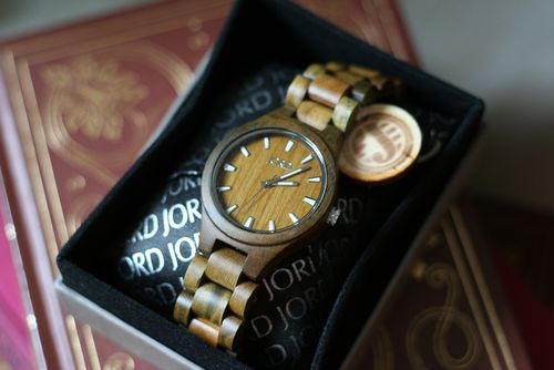 Jord wooden watch giveaway suzanne carillo
