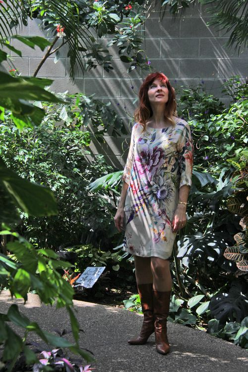 Zara floral dress suzanne carillo