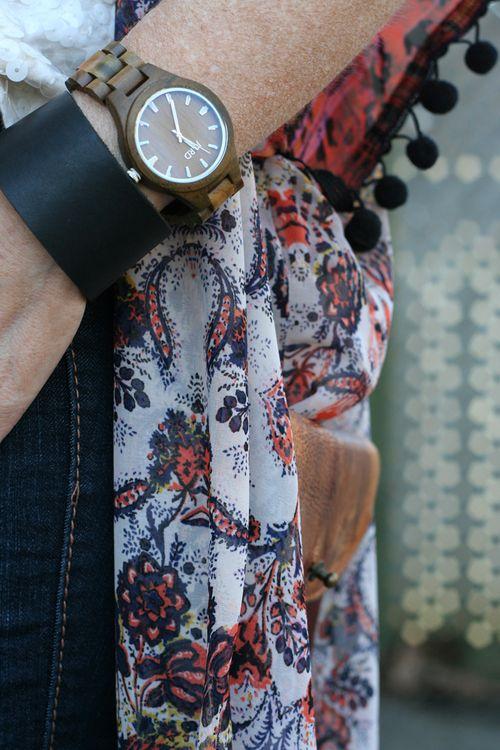 Jord wooden watch fashion watch