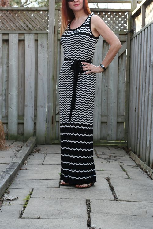 Easy vacation style maxi dress