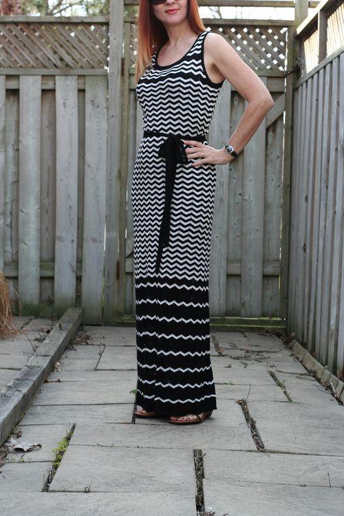 Easy vacation style maxi dress