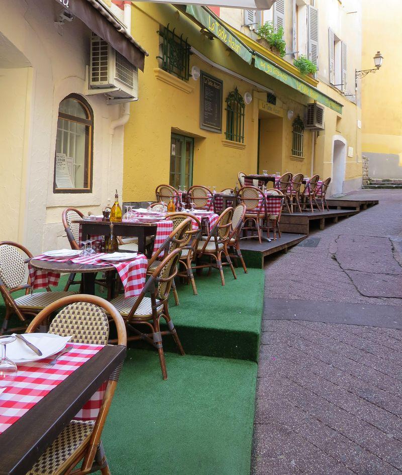 Restaurant vieux nice france