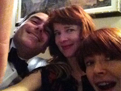 Twitter selfie oscar party