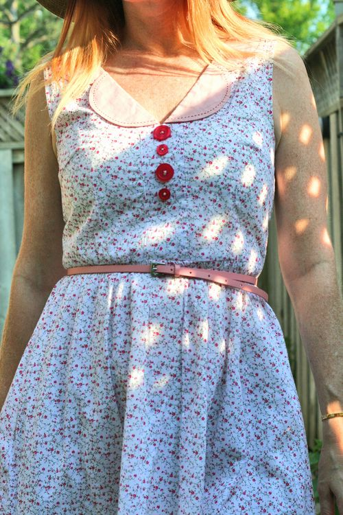 Cute summer dress by knitted dove suzanne carillo style files