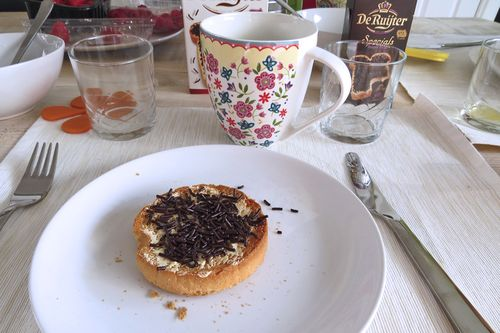 Chocolate sprinkles on toast what they eat in holland for breakfast