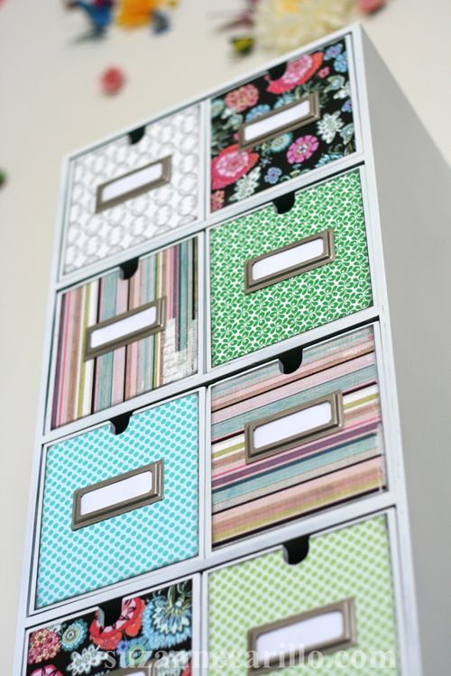 Easy DIY decoupage home storage project suzanne carillo