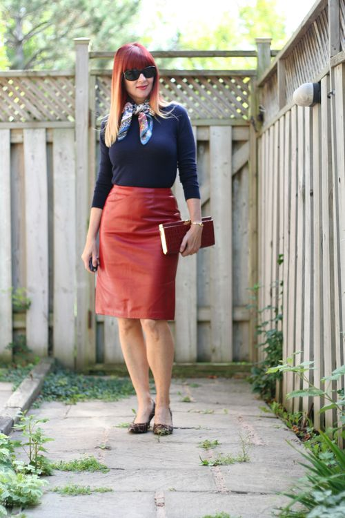 How to wear a pencil skirt over 40 suzanne carillo