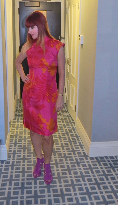 How to wear an asian style collar dress suzanne carillo