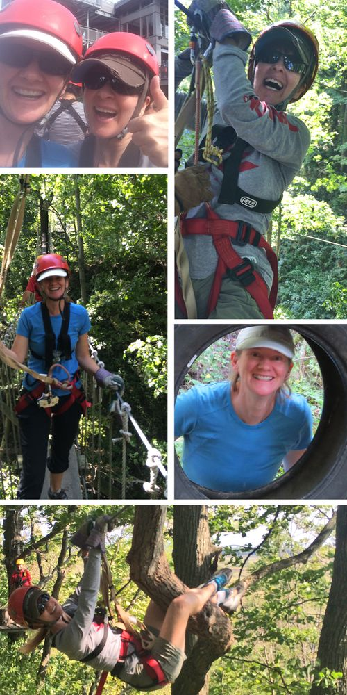 Zip lining Ontario Zip line tour long point eco adventure southern ontario suzanne carillo