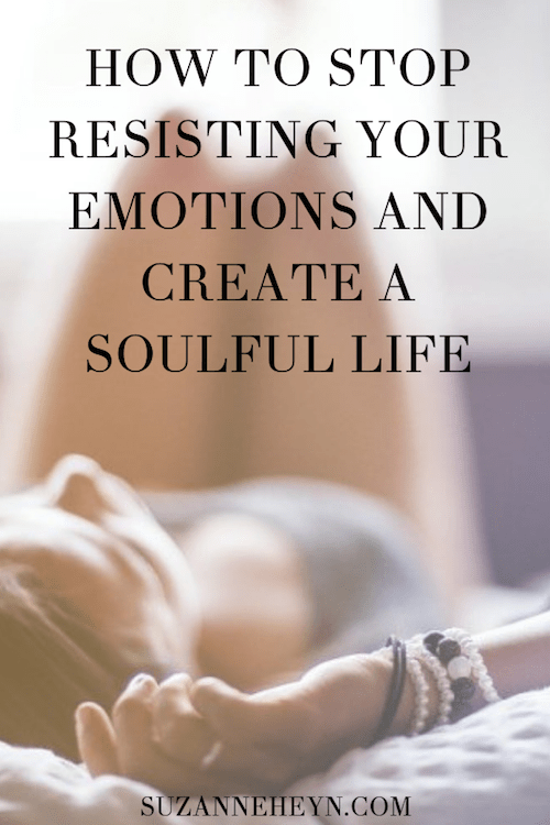 how to stop resisting your emotions pinterest