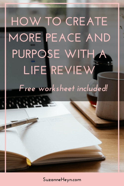 Click through for a guide to give life more purpose and peace with a life review. For big dreamers who want to discover their life purpose and live happy, joyful, spiritual lives. Meditation yoga mindfulness