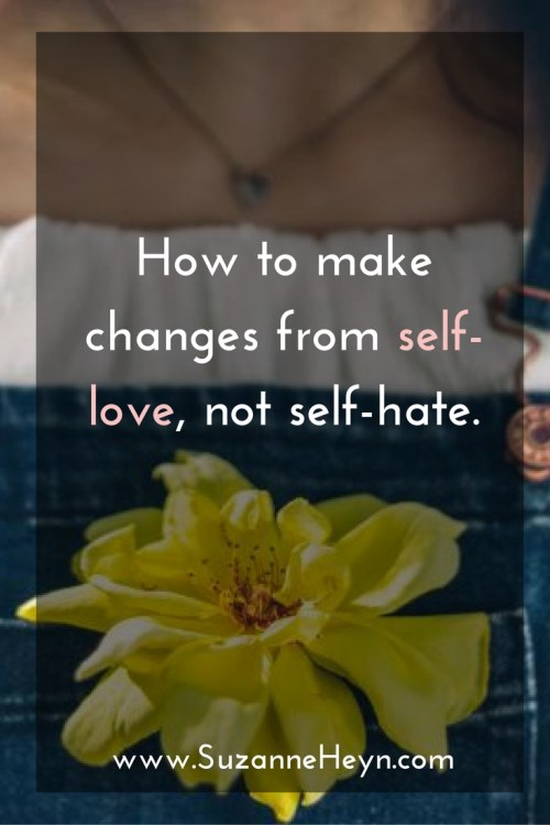 An inspirational guide for spiritual seekers and meditators everywhere who long for greater self-love. Click through to discover easy tips for making life changes from love, not hate.