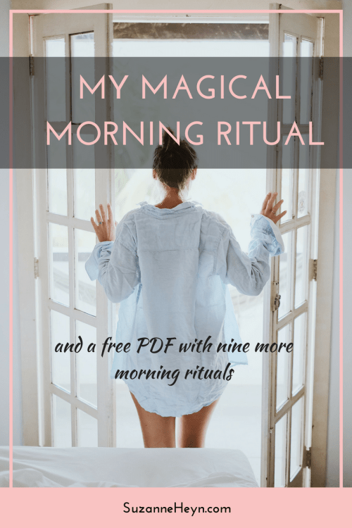 Create a magical morning ritual for a peaceful and productive day. Click through to read the article and download a PDF with nine ideas for your morning ritual.