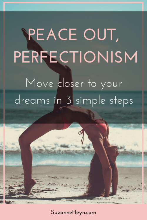Click through to discover how to overcome perfectionism in three simple steps.
