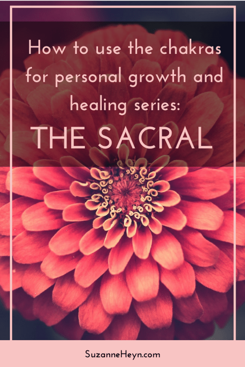 How to use the sacral, second, chakra for personal development and healing. spirituality meditation life purpose emotions creativity