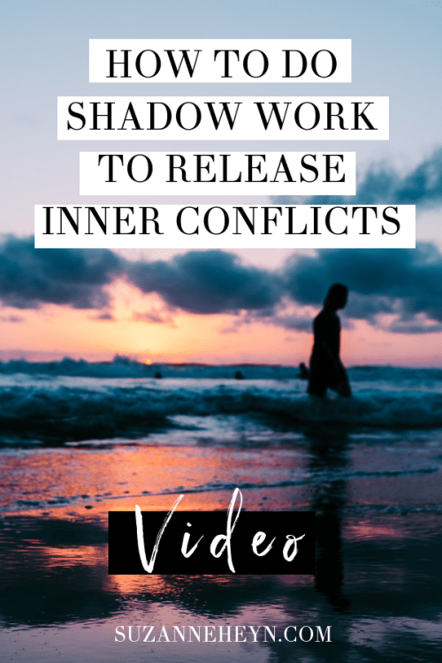 how to do shadow work to release inner conflict